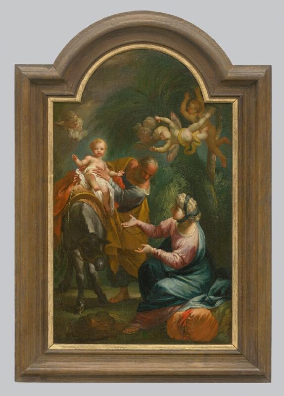 Stredoeurópsky maliar z konca 18. storočia - Útek do Egypta