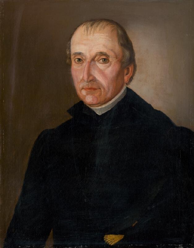 Ludwig Ermini - Podobizeň farára Jána Karola Rukovanského