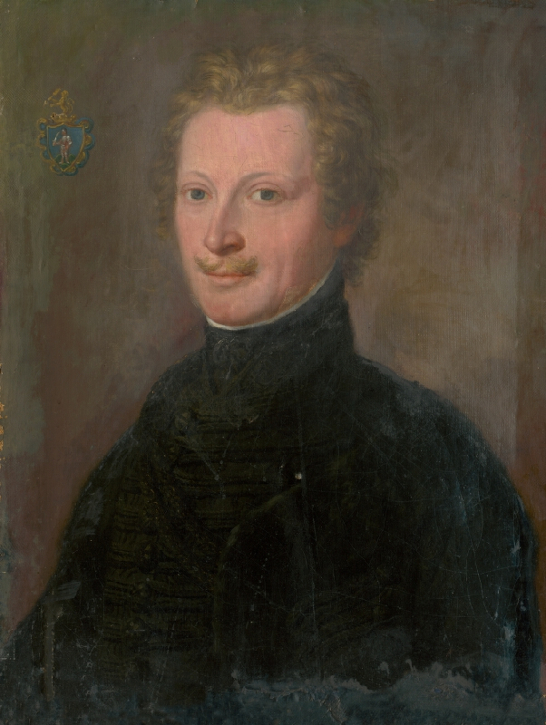 Východoslovenský maliar z 1. polovice 19. storočia - Podobizeň Jozefa Szirányho