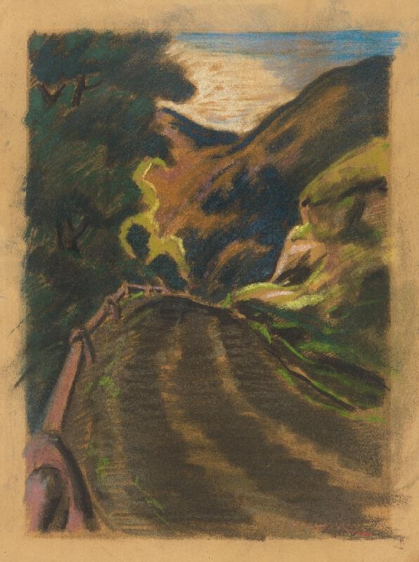 Edmund Gwerk - Cesta medzi kopcami