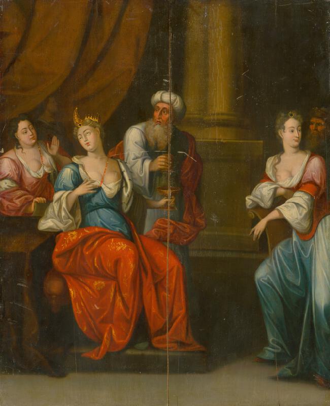 Západoeurópsky maliar okolo roku 1600 - Historický výjav