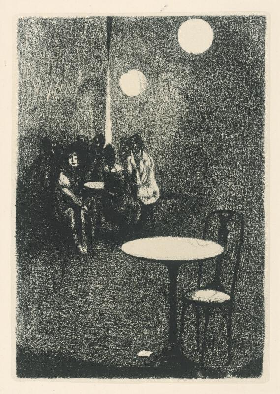 Vincent Hložník - Biely stolík
