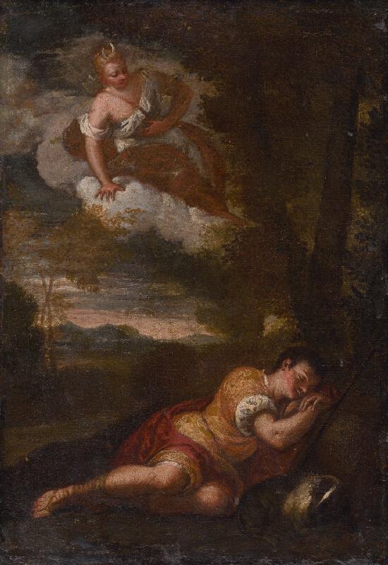 Benátsky maliar z konca 16. storočia, Benátsky maliar z konca 17. storočia - Diana a Endymion