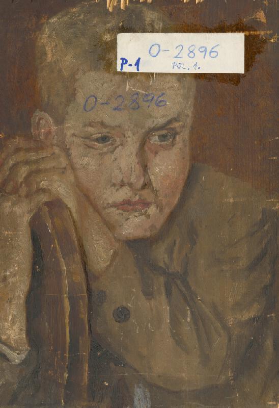 Aurel Ballo – Podobizeň Zuzany Ballovej. Portrét chlapca Štefana Žuffu