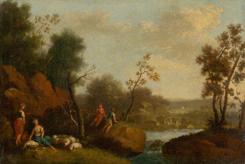 Rakúsky maliar z 2. polovice 18. storočia - Romantická krajina