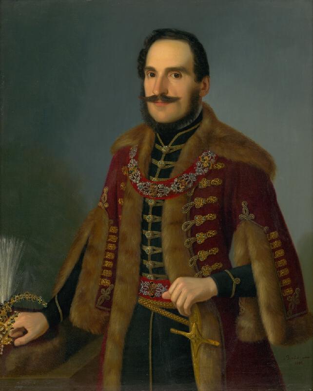 Jozef Božetech Klemens - Podobizeň Antala Rocha