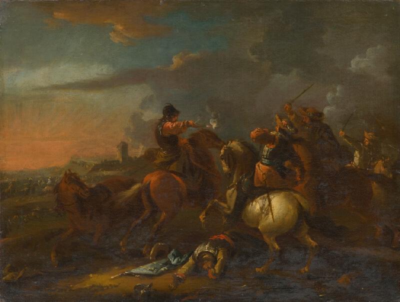 August Querfurt - Jazdecká bitka II.