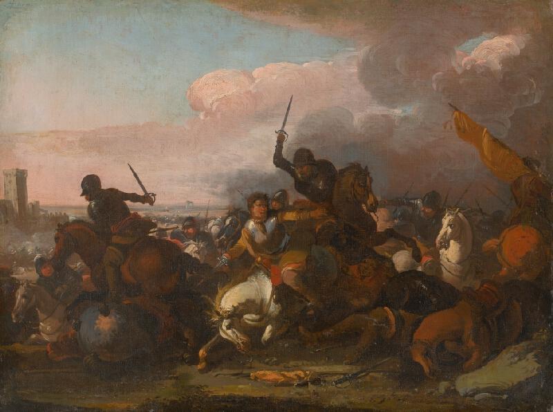August Querfurt - Jazdecká bitka III.