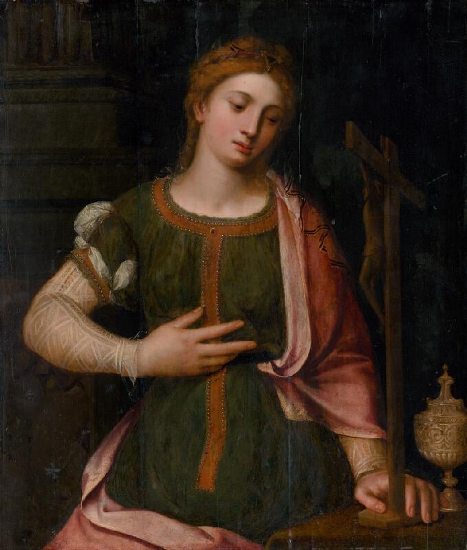 Antverpský maliar, Nizozemský romanista z 1. štvrtiny 16. storočia - Kajúca sa Mária Magdaléna