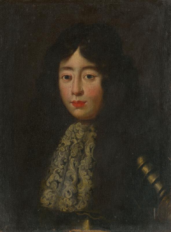 Západoeurópsky maliar z konca 17. storočia - Podobizeň šľachtica