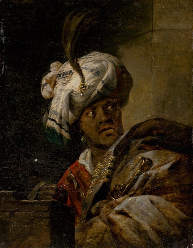 Jansz. Aert van Marienhof - Orientálec v turbane