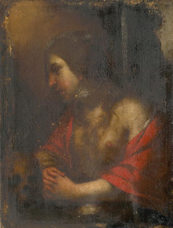 Taliansky maliar zo začiatku 17. storočia - Svätá Magdaléna