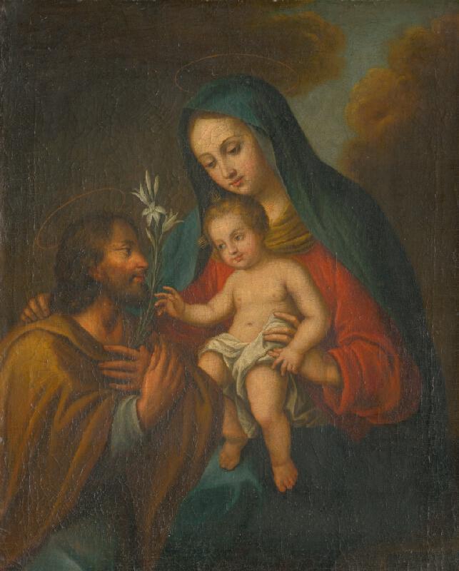 Stredoeurópsky maliar z prelomu 18. - 19. storočia - Svätá rodina