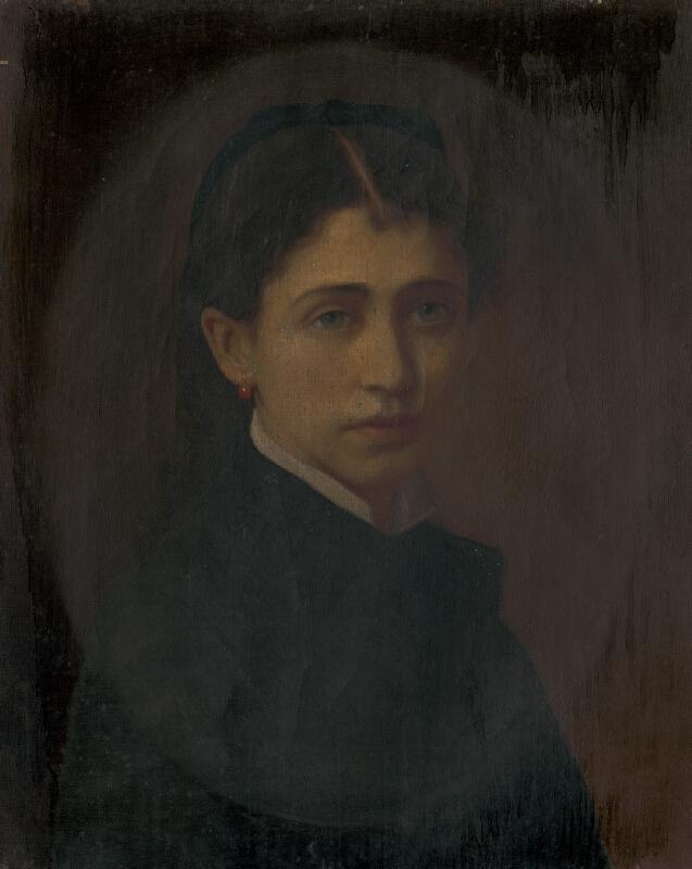 Stredoeurópsky maliar z konca 19. storočia - Podobizeň Netti Schottek