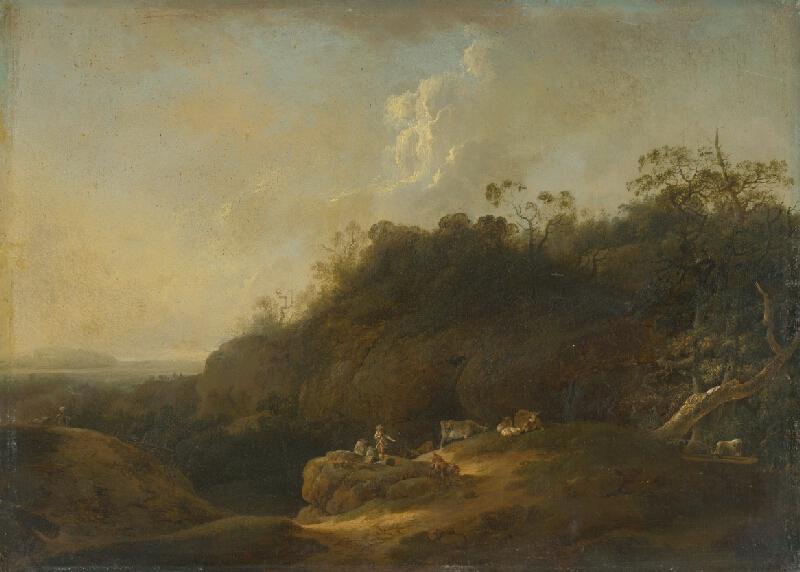 Jan Wils - Krajina s pastierom