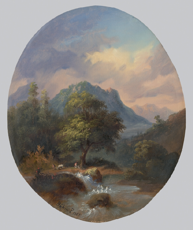 Pál Böhm - Tatranská krajina