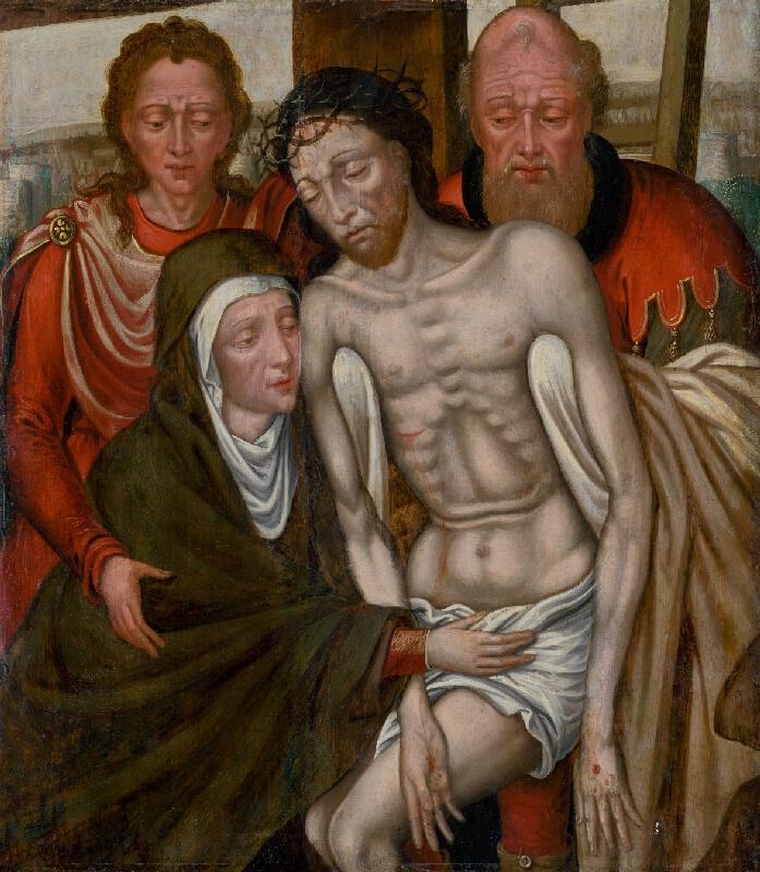 Quentin Massys, Roger van den Weyden - Snímanie z kríža