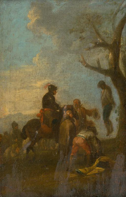 Stredoeurópsky maliar z 2. polovice 18. storočia - Poprava