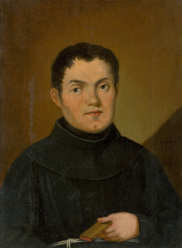 Stredoeurópsky maliar z 19. storočia - Portrét mnícha