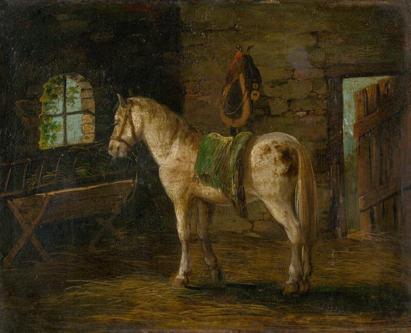 Stredoeurópsky maliar z 19. storočia - Kôň II.