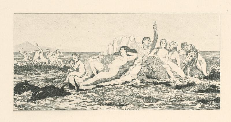 Max Klinger - Venuša v mori