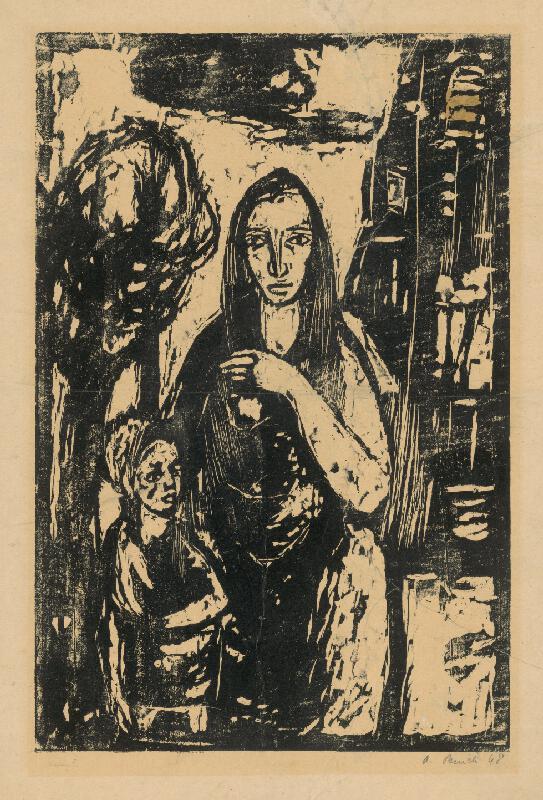 Alojz Pepich - Žena s dieťaťom