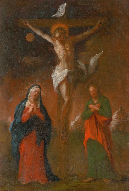 Štefan Schaller, Slovenský maliar z 3. tretiny 18. storočia - Ježiš zomiera na kríži. Štúdia ku Krížovej ceste XII.