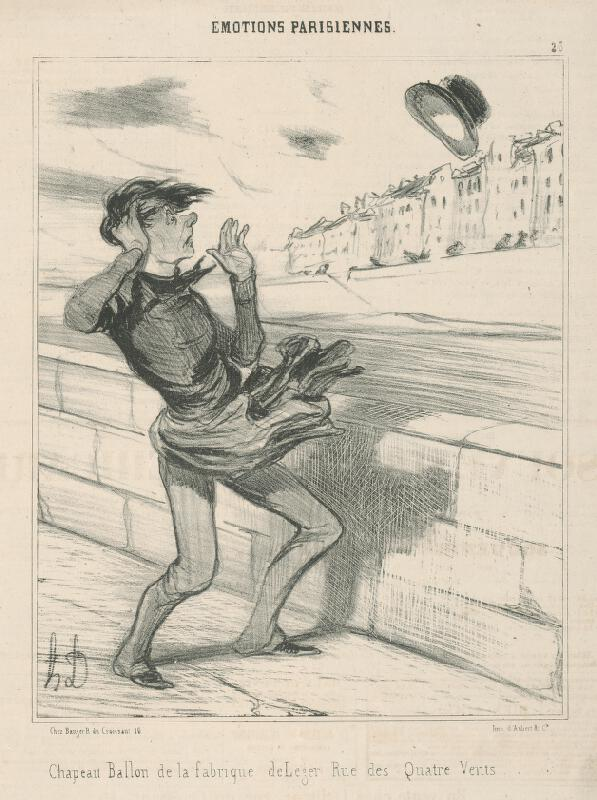 Honoré Daumier - Klobúk - balón