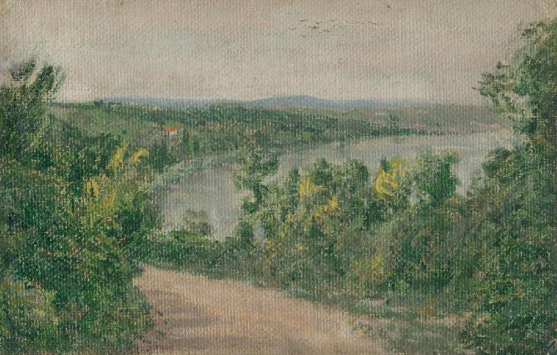 Karol Miloslav Lehotský - Krajina z povodia Dunaja