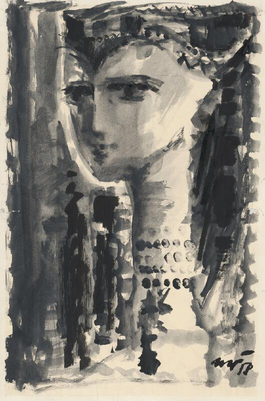 Marián Čunderlík - Dievča v kroji