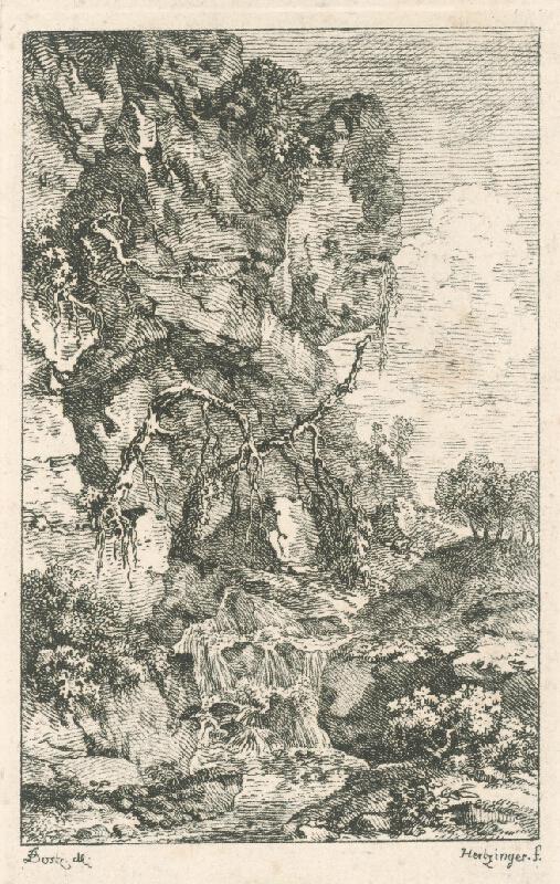 Anton Hertzinger, Karel Postl - Horský potok