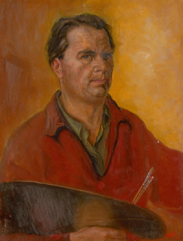 Ladislav Székely - Autoportrét