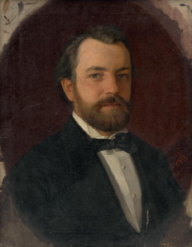 Bratislavský maliar - Podobizeň pána Richtera