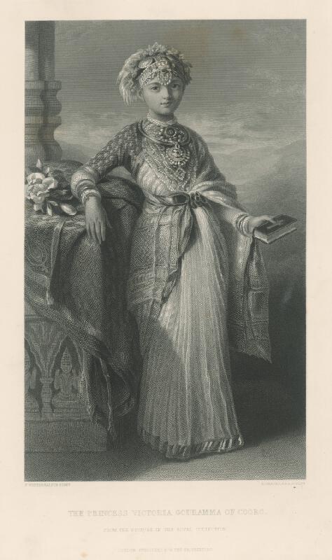 Robert Graves, Franz Xaver Winterhalter - Princezná Victoria Gouramma