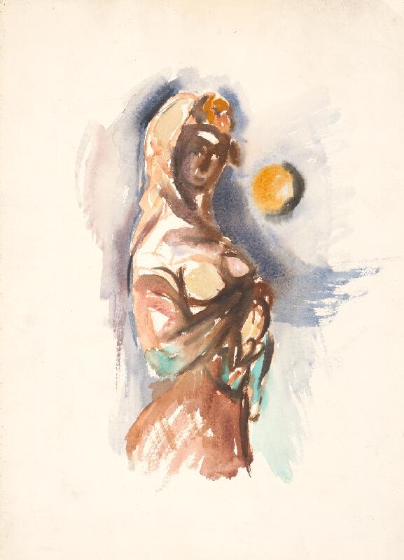 Viliam Chmel – Žena s mesiacom