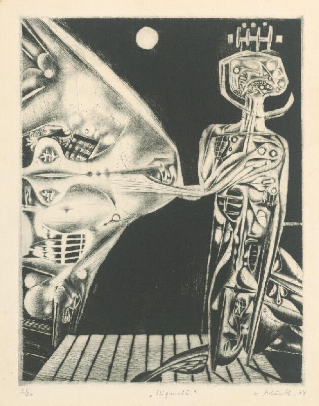 Vincent Hložník - List I. - z cyklu Pečate