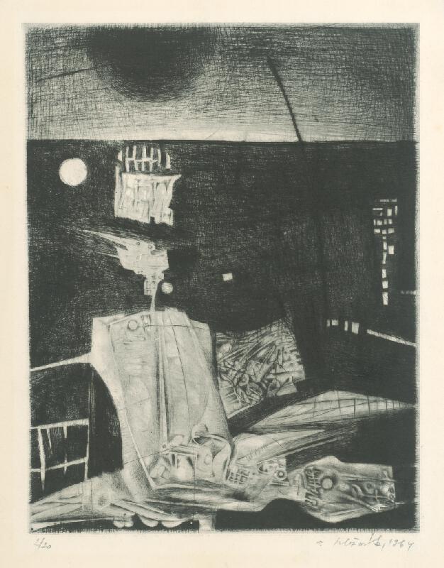Vincent Hložník - List V. - z cyklu Pečate