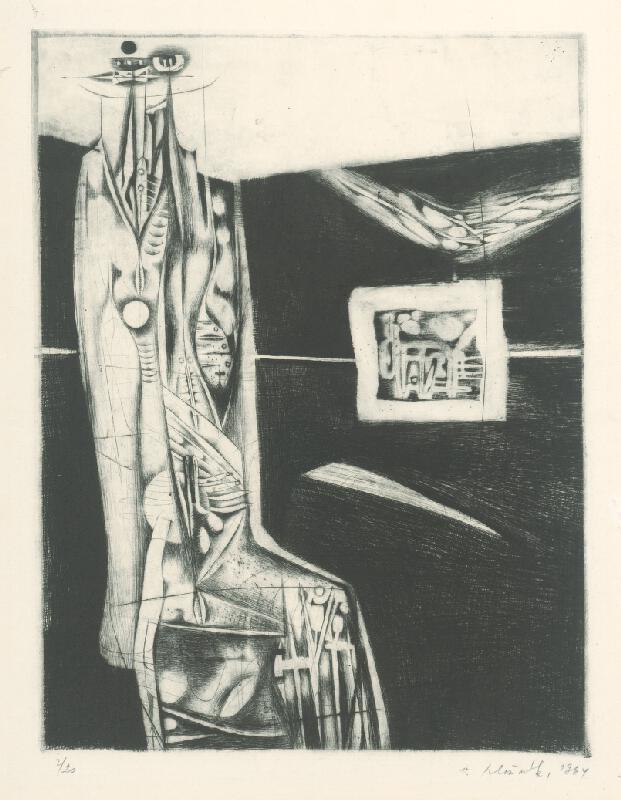 Vincent Hložník - List VI. - z cyklu Pečate