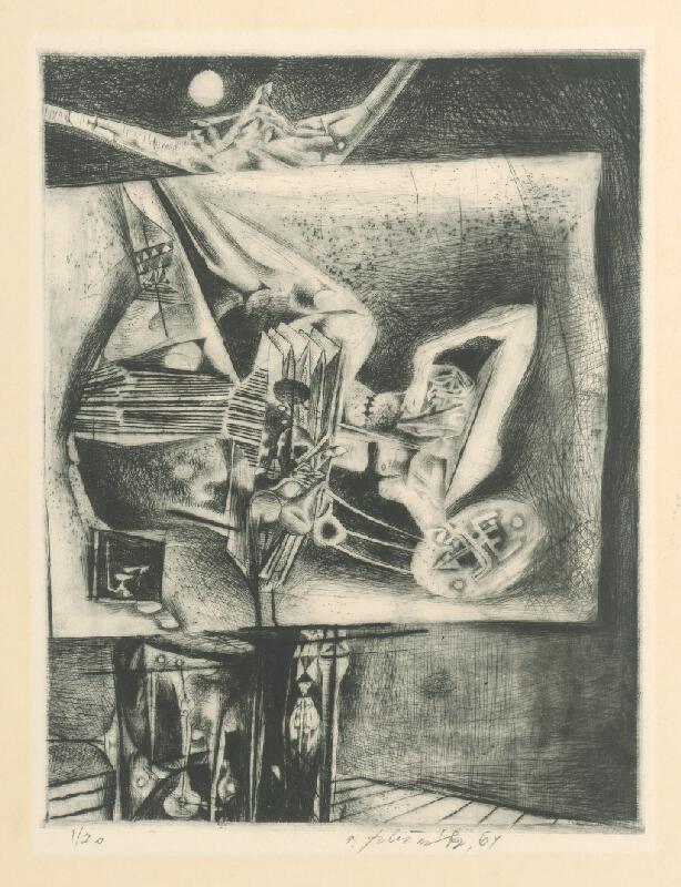 Vincent Hložník - List XII. - z cyklu Pečate