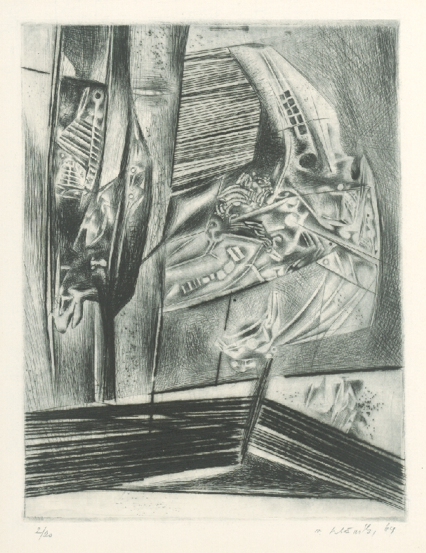 Vincent Hložník - List XV. - z cyklu Pečate