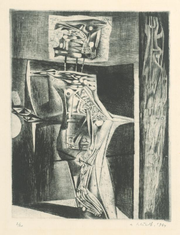 Vincent Hložník - List XVI. - z cyklu Pečate
