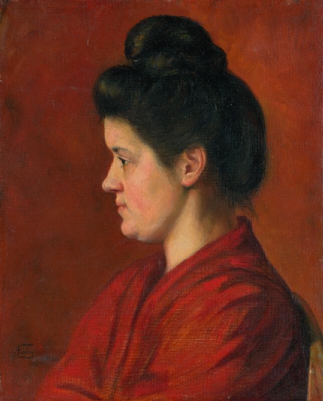 Alojz Fábry - Hlava ženy