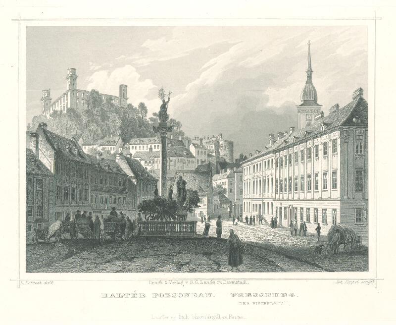 Ludwig Rohbock, Johann Gabriel Friedrich Poppel - Bratislava