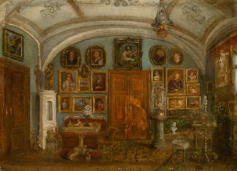 Anna Zmeškalová - Interiér vlastného ateliéru