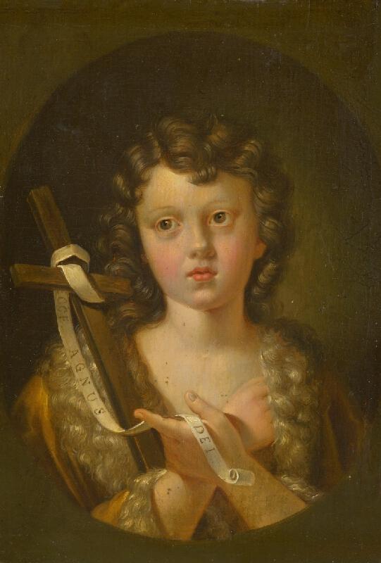 Taliansky maliar zo 17. storočia, Holandský maliar z 2. polovice 17. storočia - Svätý Ján Krstiteľ ako dieťa