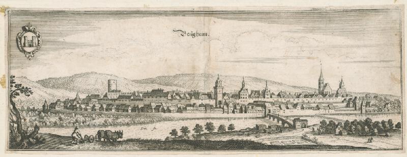 Nemecký autor zo 17. storočia - Bergheim