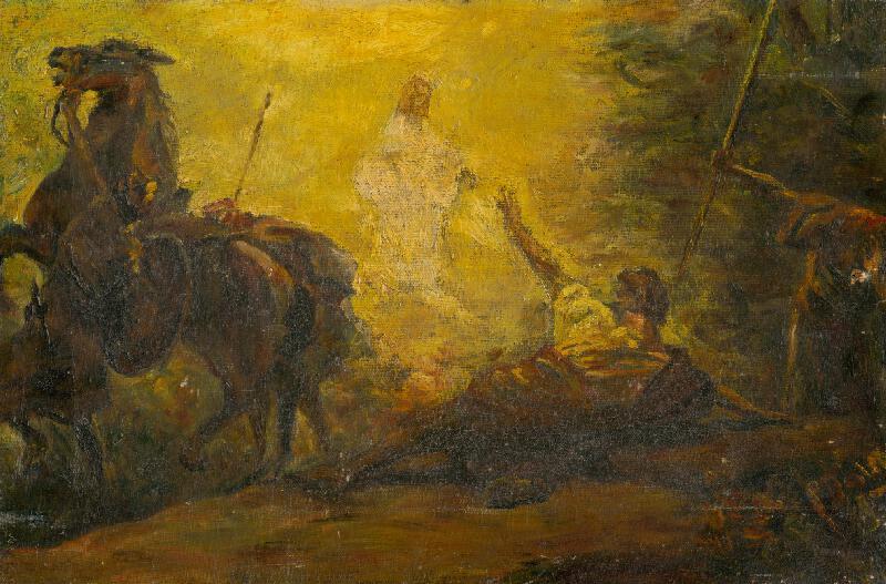 Árpád Feszty - Obrátenie Pavla
