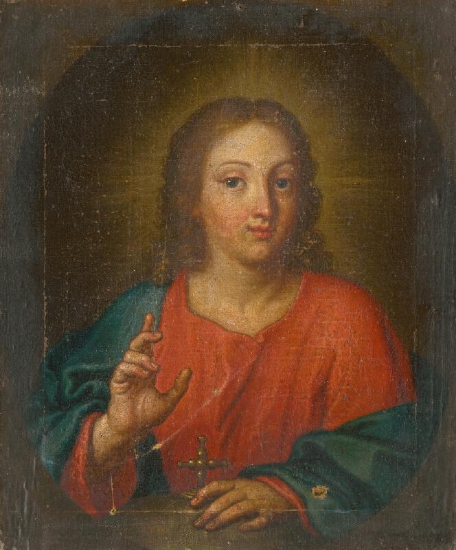 Slovenský maliar z 18. storočia, Neznámy maliar - Poprsie Krista
