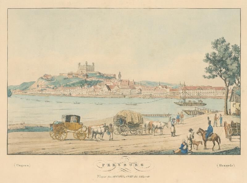Rakúsky maliar z 1. polovice 19. storočia - Bratislava