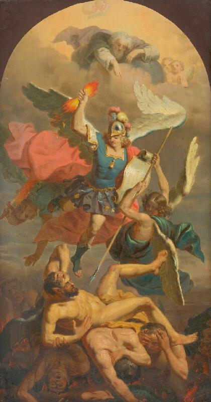 Rakúsky maliar z 2. polovice 18. storočia - Posledný súd